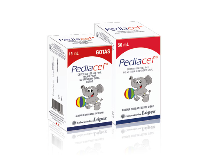 PEDIACEF 100 mg/ 5 mL